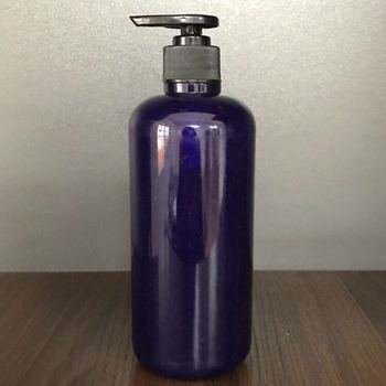 fancy hot sale high quality 400ml shampoo body lotion dish wash plastic bottle