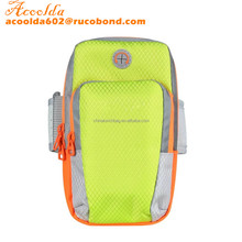 Unisex Outdoor Money Card Bicycling Climbing Running Reflective Arm Band Bag Phone Holder Bag for 4 - 6 Inches Phone
