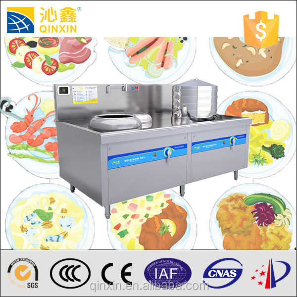 temperature control best sell kitchen used induction cooker/chinese restaurant kitchen equipment