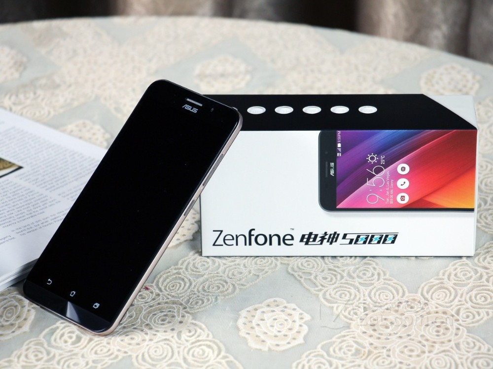 ASUS zenfone max ZC550KL mobile phone 5000mAh battery 2GB RAM 16/32GB ROM 4G FDD Phone