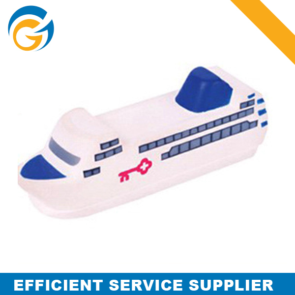 2014 Popular Ship Figured Promotional PU Foam Stress Toy