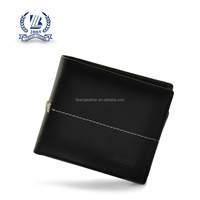 Leather/PU material men's wallet with RFID protection