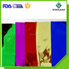Colorful PET Film, Coated Polyester Film, Goden color PET Film