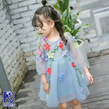Good quality latest latest children birthday dress designs