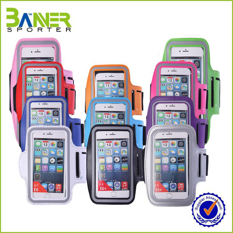 Wholesale running phone armband /mobile phone arm bag/ for iphone armband