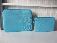 Environmental neoprene Laptop Sleeve with holder/customized design factory