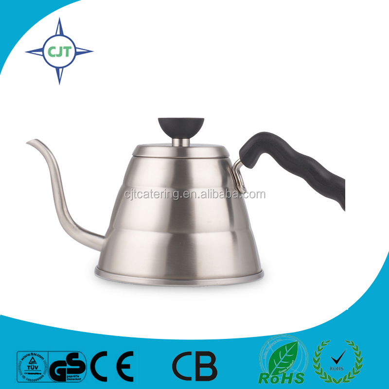 large Stainless steel Hand Drip pour over coffee pot one-stop