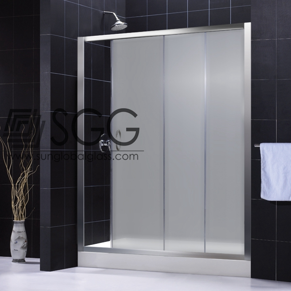 Top quality 10mm tempered glass shower screen