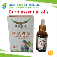 Good Chinese medicine burn essential oils cure for scald