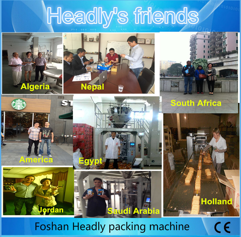 Foshan Headly automatic granola Ice cream bar horizontal pillow packaging machine price