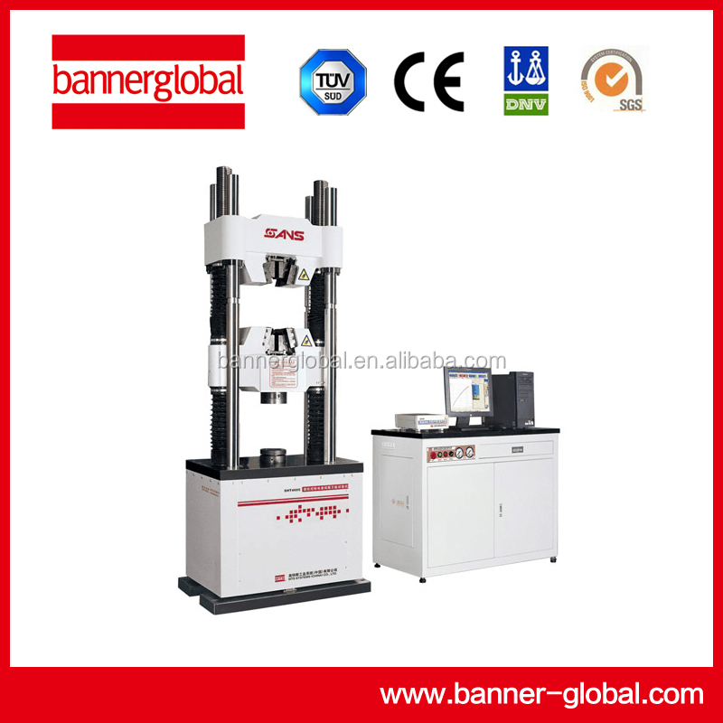 High-speed links with Computer control electro-hydraulic servo testing machine