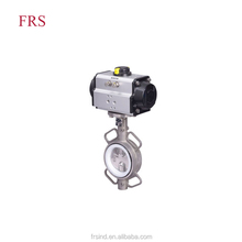 China Supplier Wafer Type Worm Gear Butterfly Valve Air Actuator Butterfly Valve With Price List