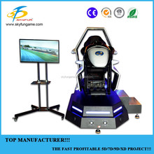 2017 high quality economical The newest Racing simulator car game for Europe market