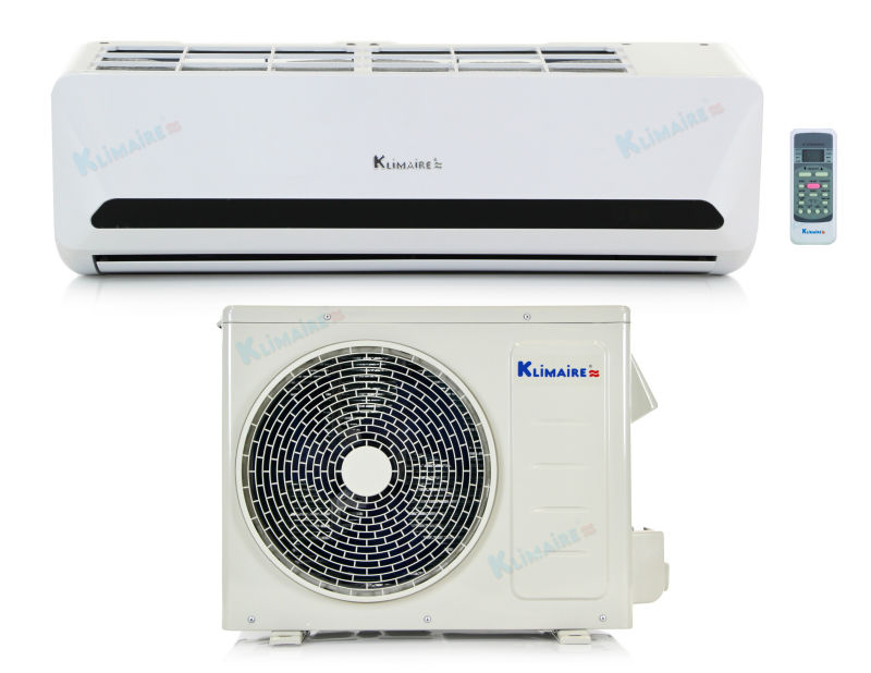 24,000 Btu Klimaire 15 SEER Ductless Mini Split - DC Inverter Air Conditioner & Heat Pump - 220 V - Complete Installation Kit 1