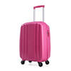 lock zipper ABS luggage bag trolley suitcase for students