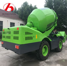 High quality Performance electric self loader concrete mixer