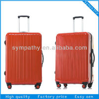Hard PC Trolley Case & Suitcase & abs luggage