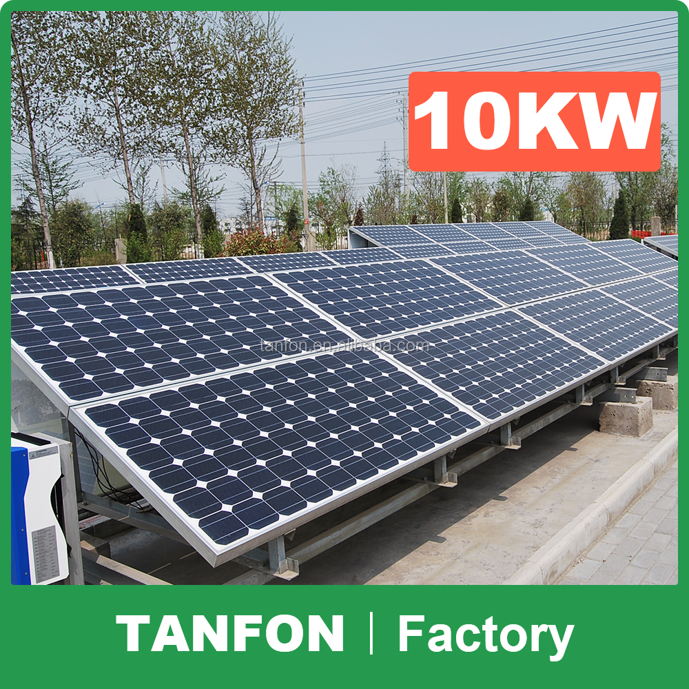 1KW 2KW 3KW 5KW full solar panel systems for house / complete set solar energy system 10KW / 5000W solar power generator system