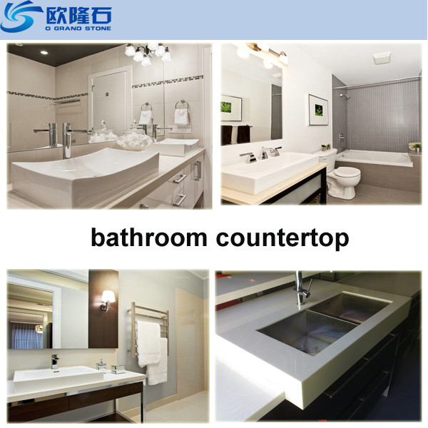 White Faux Quartz Stone Slab For Bathroom Countertop Buy Faux Stone Quartz Slab Countertop