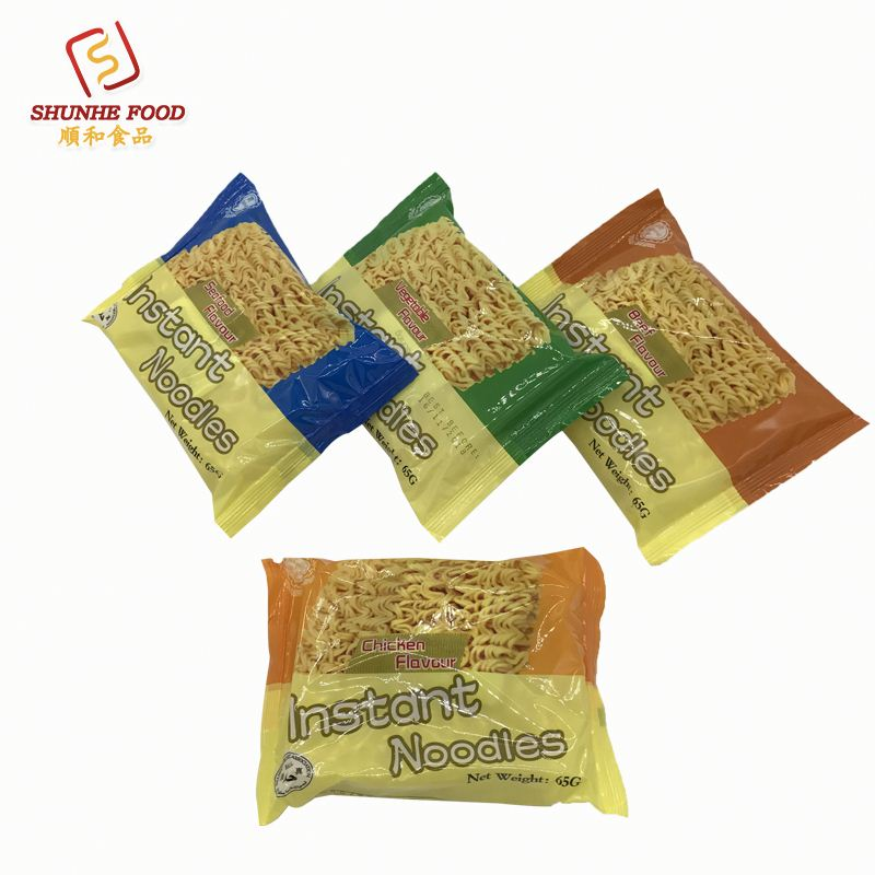 Low Salt Instant Noodles With Three Flavors