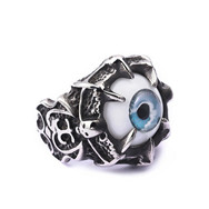 Individuality Finger Ring Jewelry Retro Punk Skull Heads Fist Rings for Men