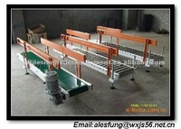 type34-SI/GI green PVC belt conveyor,light duty belt conveyor