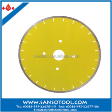 350mm Diamond blade for cutting granite/marble/asphalt etc