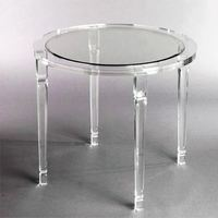 fashion clear acrylic console table,luxury console table