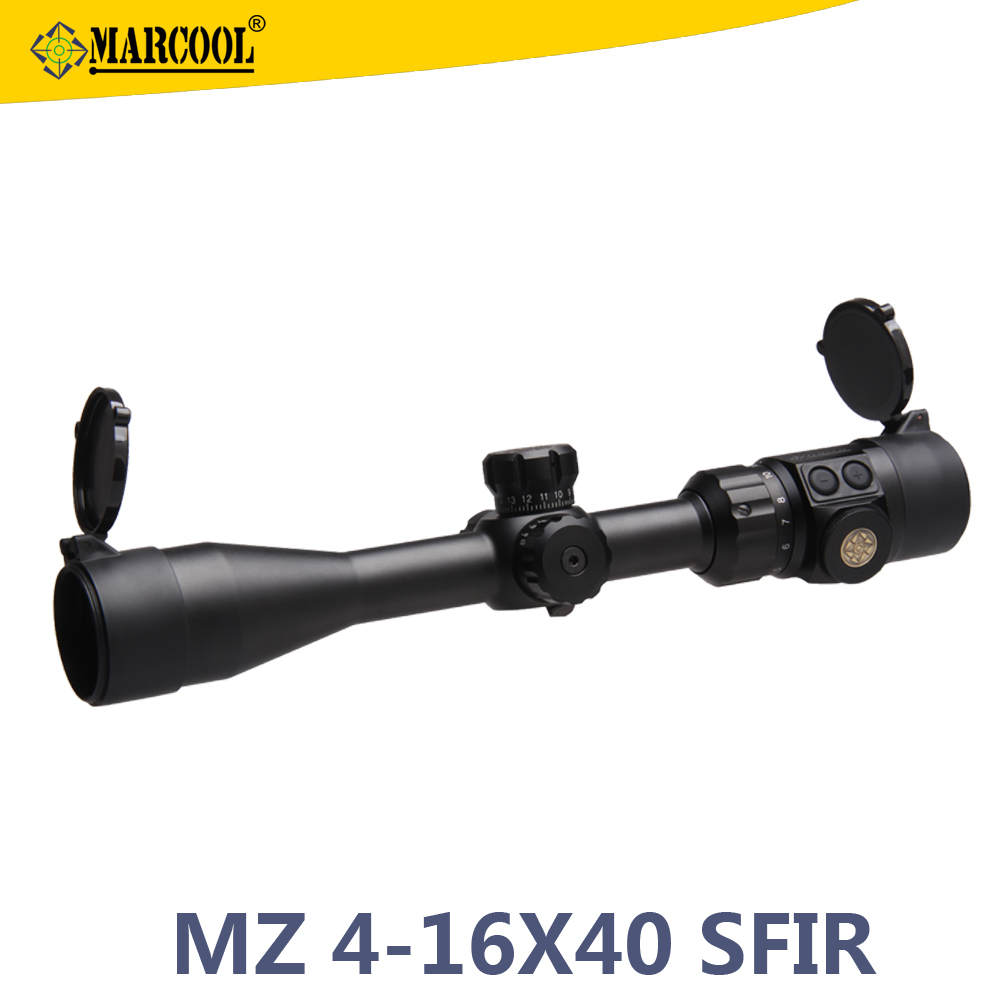 Marcool Christmsa Gift 4-16x40 SFIRL Ar-15 Accessory Mental Hunting Rifle Scope Stock
