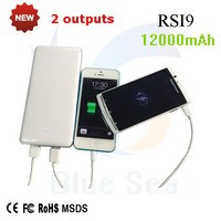 New style promotional 12000mah power bank cross