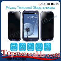 Mobile Privacy Tempered Glass Screen Protector Guards For Samsung Galaxy S3 And All Brand Smartphone