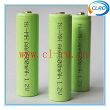 nimh aaa 600mah 1.2v ni-mh rechargeable battery button top flat top