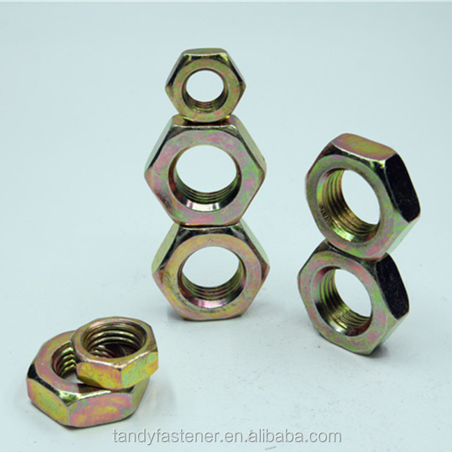 Shanghai factory Reliable Quality hex nut hardware