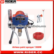 1300W 1.75HP airless paint sprayer machine