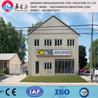 two/multi storey steel structure office building cost