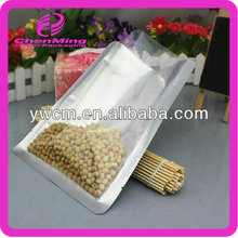 Yiwu wholesale clear food packing three side seal bag