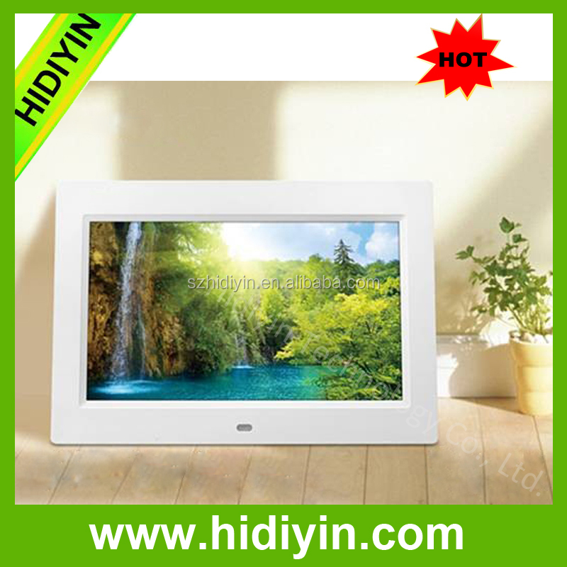 "10.1""digital photo frame full function picture music movie player china supplier"