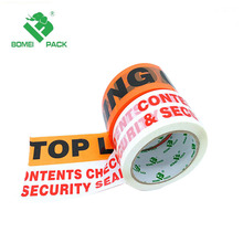 Single Sided Adhesive BOPP Material custom logo printed shipping carton sealing tape