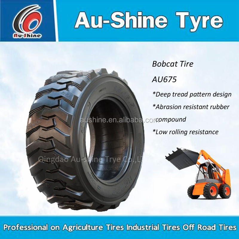 China factory bobcat tyre backhoe tyre 14-17.5 skid steer tire with CCC,ISO,DOT,ECE certifications