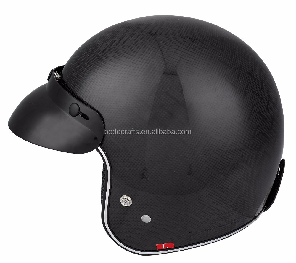 2018 Hot Sale Safety 3/4 Open Face Motor cycle Scooter Helmet