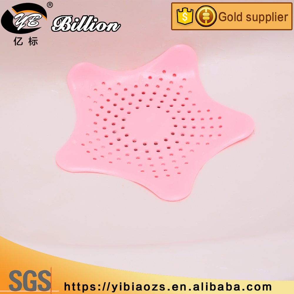 Sea star Sewer Outfall Strainer Creative Bathroom Kitchen Sink Cover Floor Drain Hair Filter Screen
