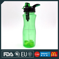 Filter Water Bottles with Ice Cubes, Tritan Filter Sporting Jug
