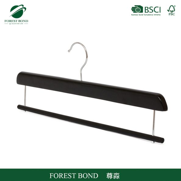 New product hot sale promotion mahogany wood suit hanger