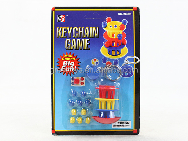 portable educational games with keychain
