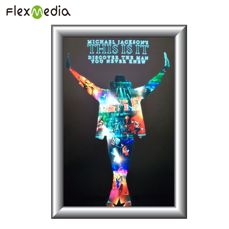 Top quality Flash lighting Waterproof advertising EL poster with panel display sheet