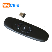 2017 newest product wechip C120 2.4G Mini Wireless Keyboard Mouse Bluetooth Remote Control