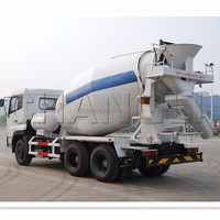 mini truck concrete mixer/used concrete mixer truck with pump