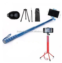 Colorful Monopod Selfie Stick,2017 Selfie Stick tripod ,Stick Self Camera In Professional Tripod