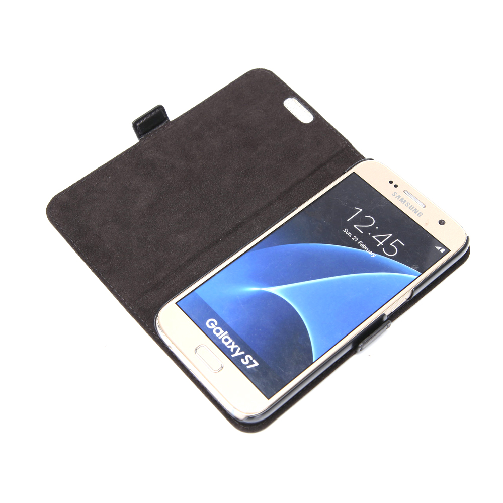 2016 new products leather mobile phones case for samsung galaxy s7 cell phone cover