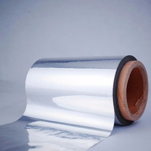 12 mic VMPET coated 8 mic LDPE film for roof ,floor ,wall insulation materials